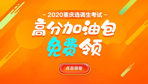 2020重庆选调备考资料